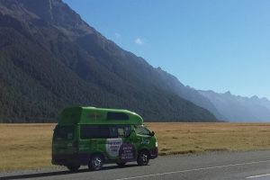 Jucy Camper at Milford Highway