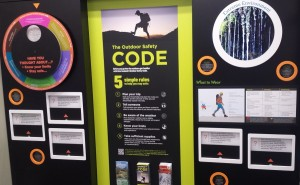 DOC in Queenstown has a brand new Visitor Centre with some great information you can check out as you pick up your hut tickets.