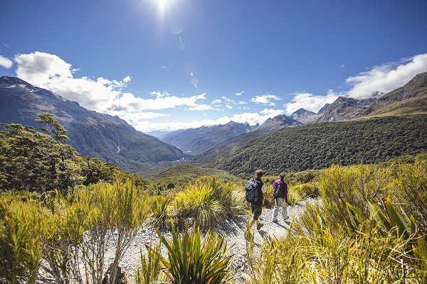 Routeburn Track, Fiordland National Park, New Zealand.