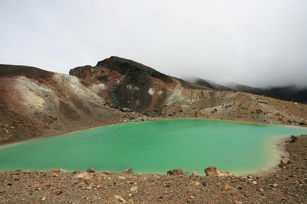 Crater Lake Mt Tongariro