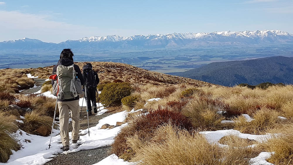 Kepler Track Winter Walking