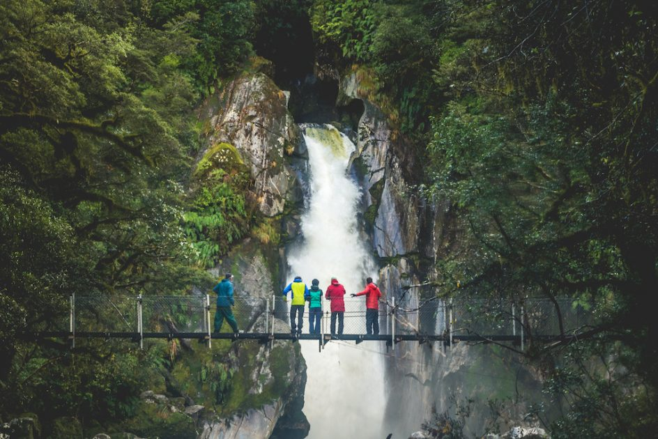 Making Memories together on the Milford Track