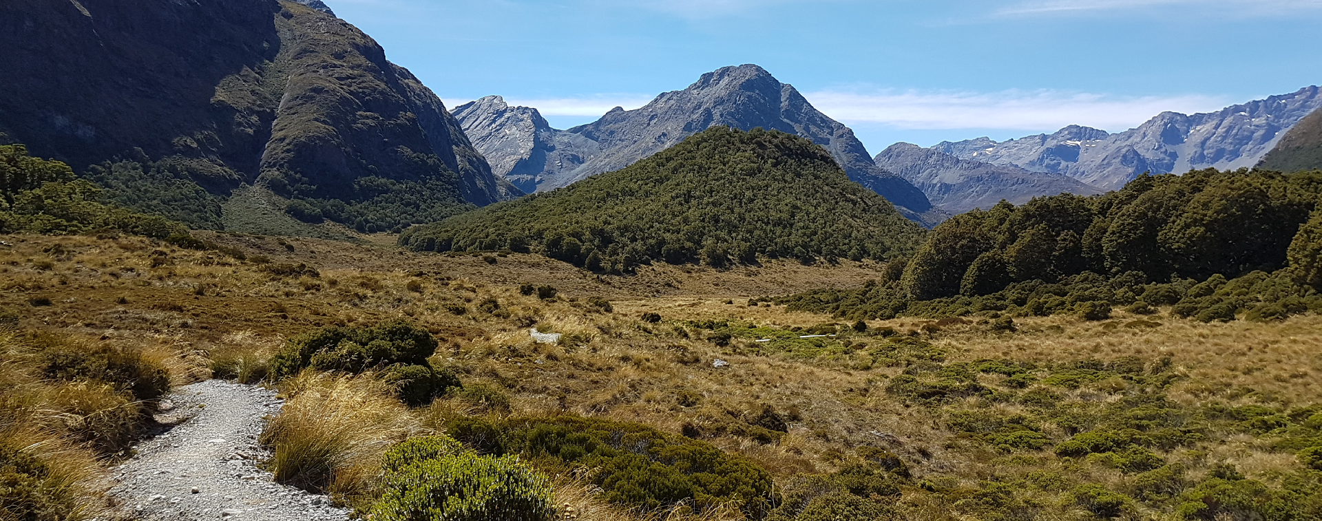 Greenstone-Caples Track, McKeller Saddle