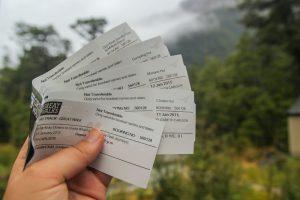 Milford Track Hut Tickets